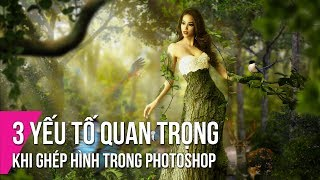 3 Yếu Tố Quan Trọng Khi Ghép Hình Trong Photoshop   Thùy Uyên