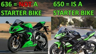 Engine size doesn't matter - Why a 636 is faster than a 650