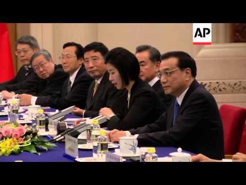 President Obama meets Chinese Premier Li Keqiang