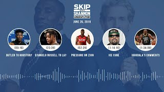 UNDISPUTED Audio Podcast (06.26.19) with Skip Bayless, Shannon Sharpe & Jenny Taft | UNDISPUTED