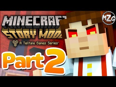 #Potato451, What does it mean? - Minecraft: Story Mode Season 2: Episode 5 - Part 2 Above and Beyond