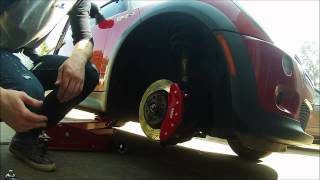 MGP Caliper Cover Installation (Mini Cooper)