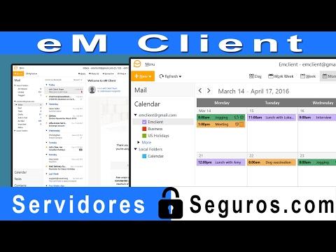 PROGRAMA PARA ADMINISTRAR EMAIL DESDE PC - EM CLIENT