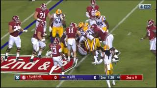 Alabama Crimson Tide at LSU Tigers in 30 Minutes - 11/5/16