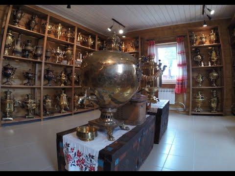 Музей самоваров в Кормило. Карелия