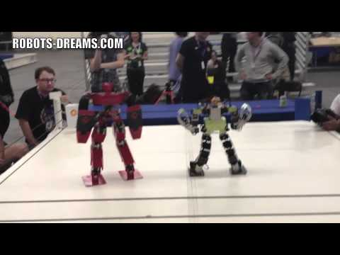 RoboGames 2012: Robot Kung Fu - Middleweight - Final Match