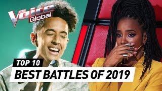 TOP 10 | BEST BATTLES of 2019 | The Voice Rewind