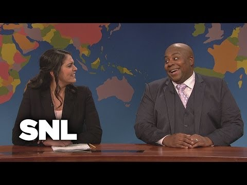 Weekend Update: Magic Johnson - Saturday Night Live