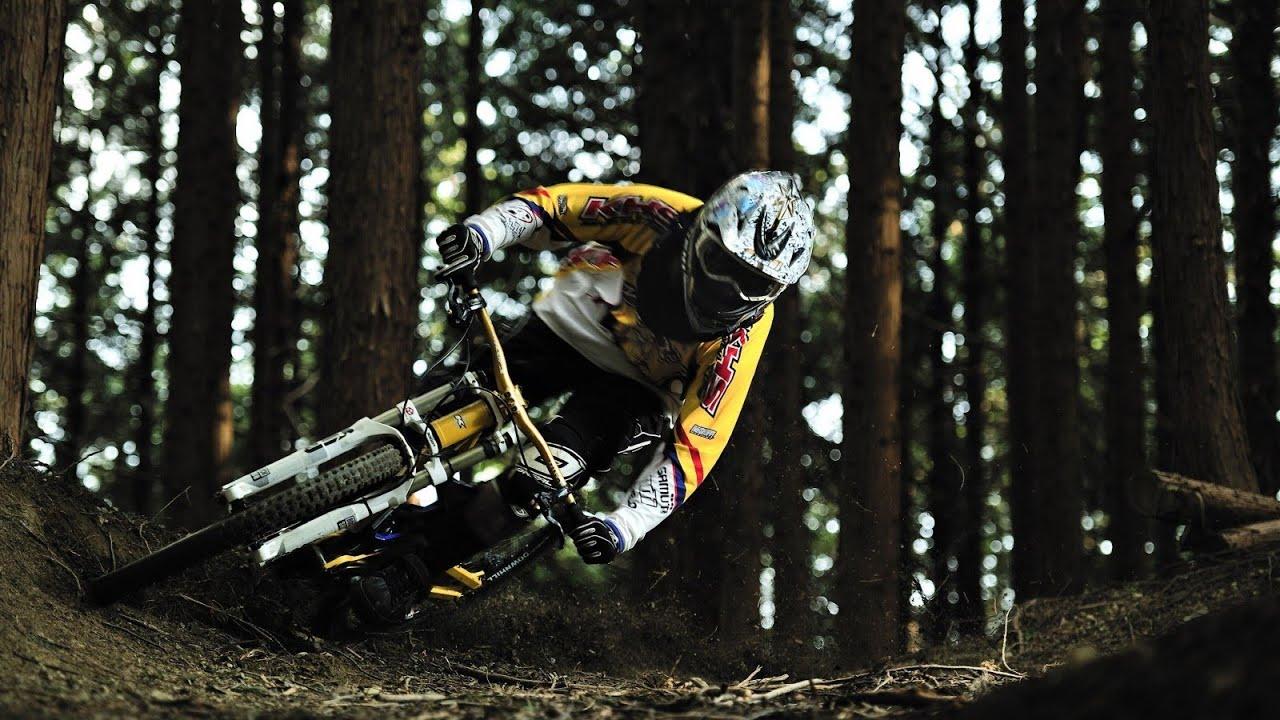 Freeride mountain biking wallpaper