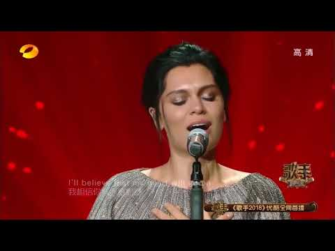 Jessie J - My Heart Will Go On (Celine Dion) - Singer 2018