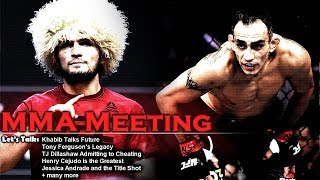 Let's Talk: Khabib Turns Down Conor; Khabib's Future; Dillashaw Cheating + more