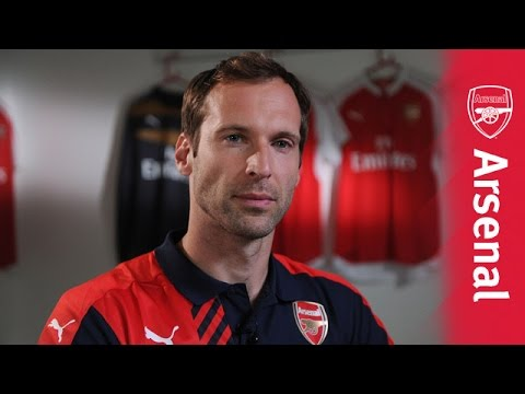 Petr Cech's first Arsenal interview