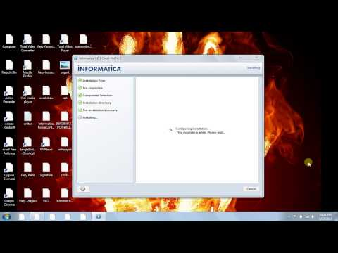 Informatica powercenter 901 installation in Windows 7 Part 2-Client installation)