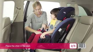 How to istallation Joie Every Stage™ FX  ( Car Seat For Baby)