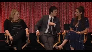 "Paleyfest 2014 - Vampire Diaries Panel Second Question ""Damon and Elena"