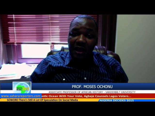 Prof. Moses Ochonu Speaks On Nigeria Gubernatorials