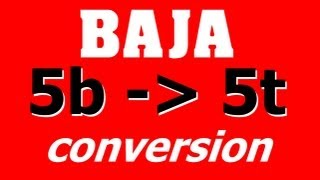 HPI Baja 5b to 5t Conversion - Time Lapse - Buggy to Short Course Truck - Umbau - Darconizer RC