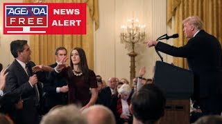 White House Suspends Jim Acosta's Press Pass - LIVE COVERAGE