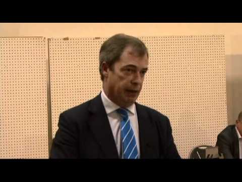 Nigel Farage Lambasts Europhile UK Mps Who Led Us into European Union