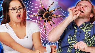 People Eat A Tarantula