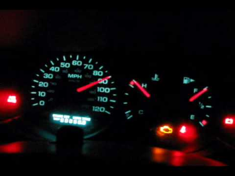 Dodge Neon Gauge Sweep Test! Instrument Panel Test! -- REALLY COOL!