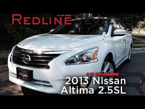 2013 Nissan Altima 2.5SL Review. Walkaround. Exhaust. & Test Drive