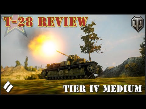 World of Tanks: T-28 Tier IV Review