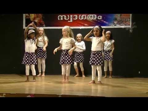 Kids Dance - Bum Bum Bole for KSM Vishu program 2013