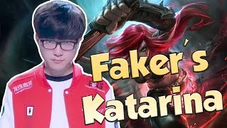League of Legends Funny Stream Moments #42 - FAKER'S KATARINA!