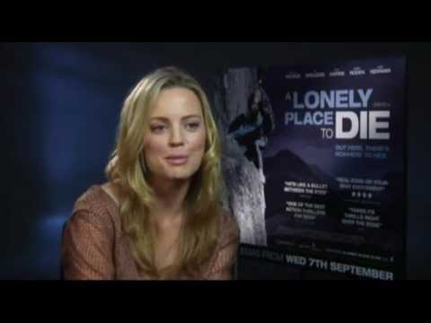 A Lonely Place to Die - Melissa George Interview
