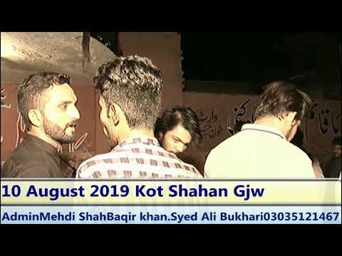 Live Majlis 10 August 2019 Kot Shahan