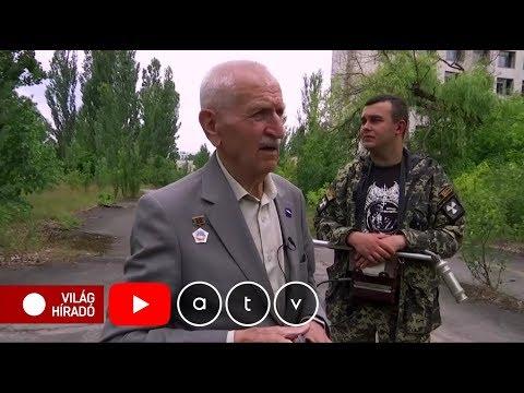Visszatért Csernobilba a volt hadipilóta, aki 3-szor repült el a négyes reaktor fölött