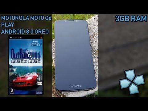 Motorola Moto G6 Play - OutRun 2006: Coast 2 Coast - PPSSPP v1.6.3 - Test