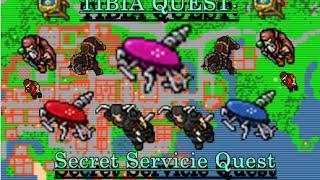 TIBIA QUEST: Secret Servicie Quest // TIBIA EN ESPAÑOL // Squeezing Gear of Girlpower o CGB