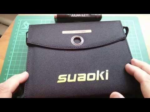 Suaoki 16W USB Foldable Solar Panel Review