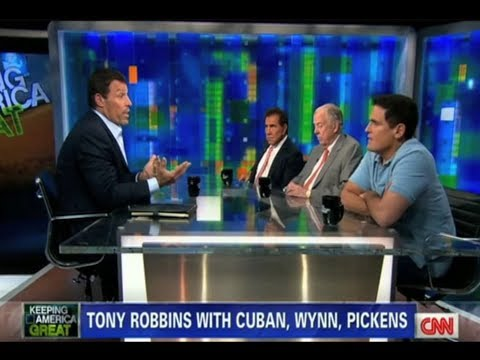Tony Robbins hosts Piers Morgan Tonight (full episode)