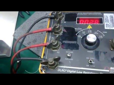 Repair Megger AVO Biddle DLRO@Digital Low Resistance Ohmmeter by Ingress Malaysia