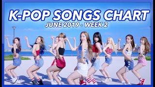 (TOP 100) K-POP SONGS CHART   JUNE 2019 (WEEK 2)