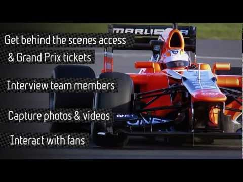 The Marussia F1™ Team needs a Social Media Driver for the US Grand Prix in Austin, TX, Nov. 16-18