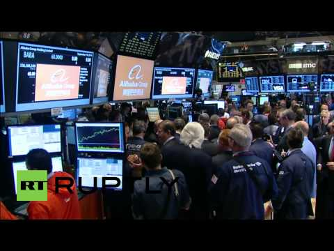 USA: Alibaba opens at $68 a share becoming biggest U.S. IPO