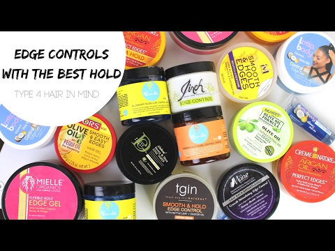 Best Edge Controls for Type 4 Hair   MAX HOLD and LONG LASTING