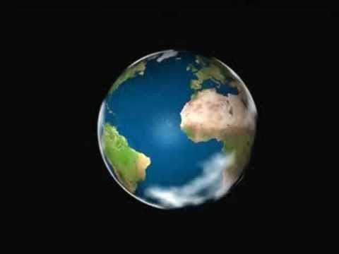 Spinning Globe Animation 2