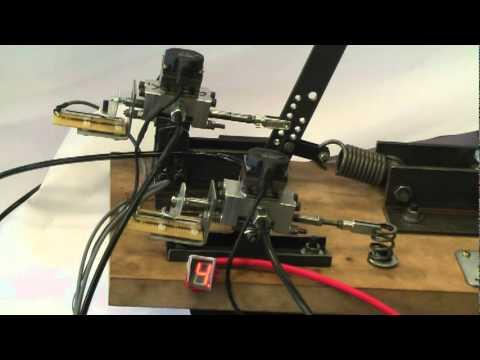 Hydraulic Gear Change For Formula Sae Car On Test Rig Youtube
