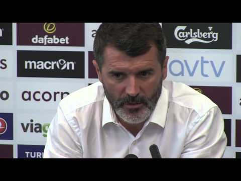 Roy Keane Aston Villa press conference