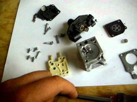 Carb Rebuild for the Echo SRM-210- Zama