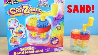 Cra-Z-Art Magic Sand Machine - Make Your Own Colored Sand