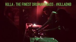 KILLA : VILNIUS. CR-EDIT b2b GRASSHOPPER smashing the crowd.