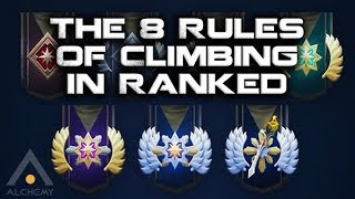 Dota 2: The Simple Rules of Gaining MMR and Ranking Up | Pro Dota 2 Guides