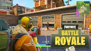 FIRST TIME LANDING IN TILTED TOWERS! - Fortnite: Battle Royale New Map Gameplay