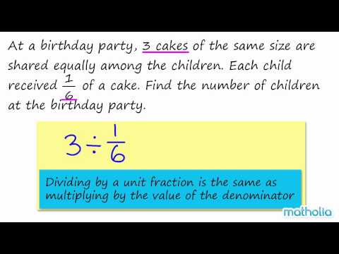 Division of Whole Numbers Division of a Whole Number by